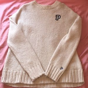 comfy pink sweater